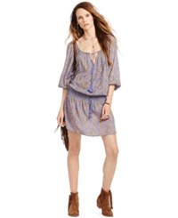 Denim And Supply Ralph Lauren Paisley Print Dress Paisley Multi