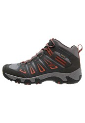 Keen Oakridge Wp Walking Boots Raven Burnt Ochre Grey