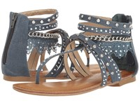 Not Rated Wilma Blue Denim Women's Sandals