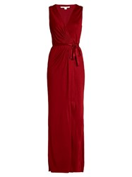 Diane Von Furstenberg Taley Dress Red