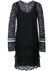 Maiyet Longsleeved Lace Dress Black