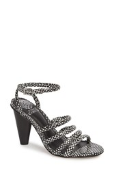 Vince Camuto Kaniana Cone Heel Cage Sandal Oxford 02