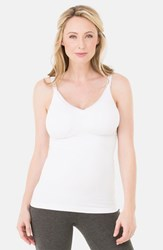 Women's Ingrid And Isabel Seamless Maternity Nursing Tank White