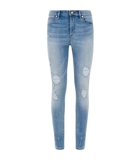 Juicy Couture Glamour Distressed Skinny Jeans