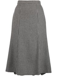 Polo Ralph Lauren Houndstooth High Rise Skirt 60