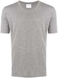 Brioni Round Neck T Shirt Grey
