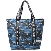 Maison Kitsune X Eastpak Flask Tote Bag Blue