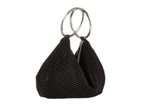Jessica Mcclintock Sarah Ring Clutch Black Clutch Handbags
