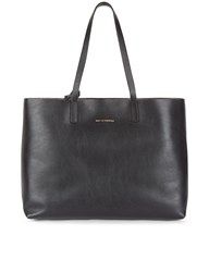 Want Les Essentiels Black Leather Strauss Reversible Tote