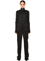 Givenchy Neoprene Jumpsuit W Logo Bands