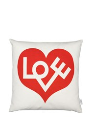 Vitra Love Graphic Printed Accent Pillow