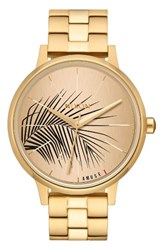 Nixon Women's 'The Kensington' Bracelet Watch 37Mm Gold Palm