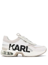 Karl Lagerfeld Panelled Chunky Sole Sneakers 60