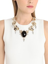 Vittorio Ceccoli Pansy And Spikes Necklace