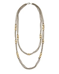 Jaeger Curb Link And Chain Necklace