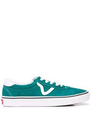 Vans Suede Sports Shoes Green