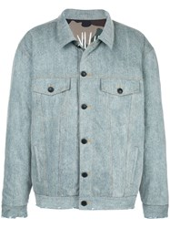 Haculla Acid Wash Reversible Denim Jacket 60