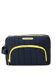 Aimee Kestenberg Isabela Cosmetic Pouch Navy Python