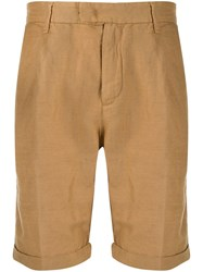 Perfection Classic Chino Shorts Brown