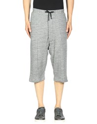 Public School 3 4 Length Shorts Grey