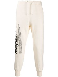 Neighborhood Side Print Track Pants White