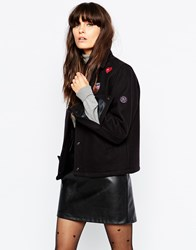 Gloverall Team Jacket With Badge Accessories Navy
