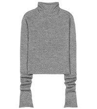 Acne Studios Jiao Alpaca And Wool Sweater Grey
