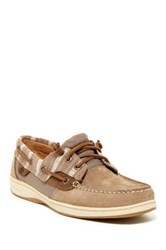 Sperry Ivyfish Striped Boat Shoe Brown