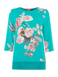 Joules Long Sleeve Shell Top Green