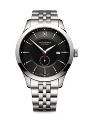 Victorinox Alliance Sterling Silver Analog Bracelet Watch