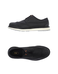 Swims Lace Up Shoes Black