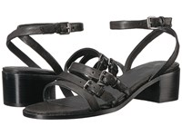 Frye Cindy Buckle Sandal Black Sandals