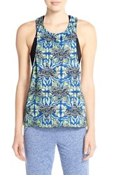 Women's Maaji 'Leafy Lane' Graphic Tank Top And Sports Bra Multicolor