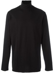 Plac Cutout Turtleneck T Shirt Black