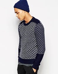 Junk De Luxe Jumper Heavy Navy