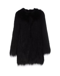 Unreal Fur Coats And Jackets Faux Furs Women Black