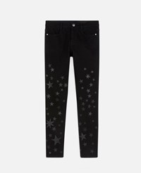Stella Mccartney Black The Mid Rise Skinny