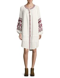 Free People In The Clear Embroidered Dress White
