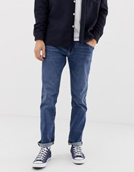 Esprit Straight Fit Jean In Light Blue Wash