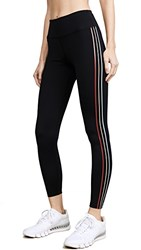 Splits59 Anchor Workout Leggings Black Multi Stripe