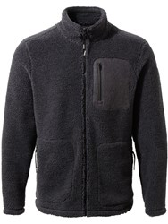 Craghoppers Men's Edvin Insulating Borg Fleece Black
