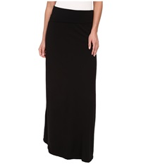 Splendid Modal Maxi Skirt Black Women's Skirt