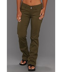 Prana Halle Pant Cargo Green Women's Casual Pants