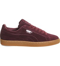 Puma Suede Classic Trainers Winetasting Lilac