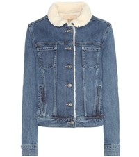 Paige Leo Denim Jacket Blue