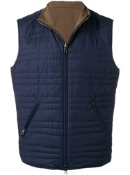 Loro Piana Marlin Gilet Blue