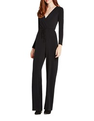 Bcbgeneration Surplice V Neck Jumpsuit Black
