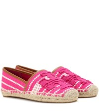 Tory Burch Shaw Espadrilles Pink