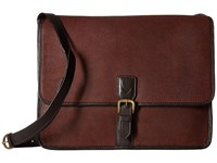 Scully Hidesign Dean Workbag With Padded Compartment Brown Bags