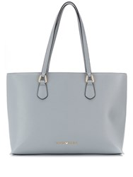 Emporio Armani Logo Shopping Tote Grey